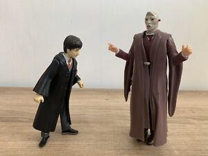 Mattel Harry Potter & The Philosophers Stone LORD VOLDEMORT & HARRY Figures