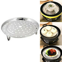 Steamer Rack Insert Stock Pot Steaming Tray Stand Cooking Cookware Tool