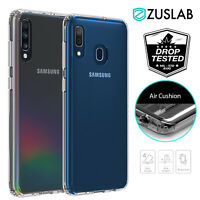 For Samsung Galaxy A20 A30 A50 A70 Case Clear Heavy Duty Shockproof Slim Cover