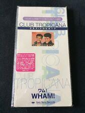 "***RARE 3"" JAPANESE PROMO/SAMPLE CD***Club Tropicana-Wham! (George Michael) NM"