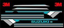 SUZUKI SAMURAI DECALS LINES STICKERS CALCOMANIAS GRAFICAS TOURQ GRAY & GRAY 3M