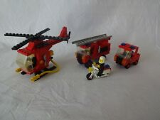 Lego City 6366 Fire & Rescue Squad, 6685 Fire Copter 1