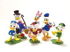 6Pcs Set Tomy Disney Japan Choco Egg Donald Daisy Duck Family Mini Figure Toys
