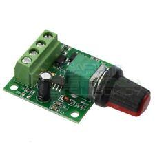 PWM Driver Motore Dimmer REGOLATORE di velocità giri DC 1.8V 3V 5V 6V 12V 2A