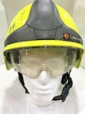 More details for rosenbauer heros-xtreme firefighter fireman search & rescue helmet b/3b #3664