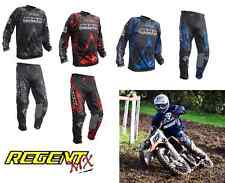 Wulfsport Max Equipe Motocross Quad Enduro Pantalones y Camisa Kit Deal Todos Los Colores