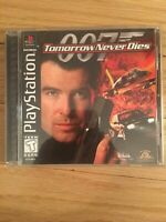 007 TOMORROW NEVER DIES - PLAYSTATION - COMPLETE WITH MANUAL - FREE S/H - (GG)