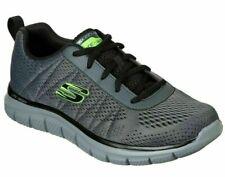 Skechers Moulton, Sneakers Uomo grey/black, Lacci, Memory Foam, 232081, Casual