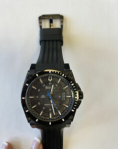 Bulova Precisionist C960944 (black) Stainless Steel Wristwatch