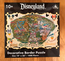 "Disneyland Park Decorative Border Puzzle 1000 Pieces 18"" x 26"" Brand New Sealed!"