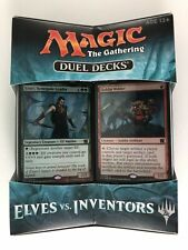 Elves vs. Inventors Duel Deck Magic the Gathering New in Box -Sealed