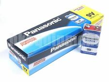 Panasonic HYPER 9v PP3 6F22 6LR61 MN1604 9 V Block Heavy Duty Cell Battery x12