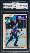 1983/84 O-Pee-Chee #39 Mark Messier PSA/DNA Certified Authentic Auto *2312