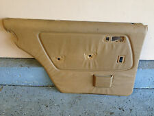 1983 MERCEDES BENZ W123 300d Door Panel Card front Left rear side  Palomino