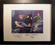 Disney Peter Pan Original hand Signed Wendy Beaumont Kerry Tinker Bell NEW Frame