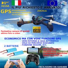 Drone GPS Hubsan H216A video in diretta e guida da smarphone APP camera HD