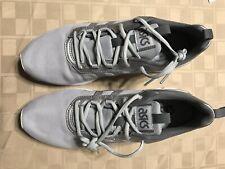 Asics Gel SAMPLE/NEW Men's Size 9 Mesh Athletic Shoe Silver White Gray