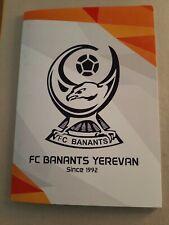 PROGRAMM FC BANANTS YEREVAN v FK CUKURICI UEFA EUROPA LEAGUE  19/20 EL
