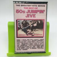 The Best Of 50s Jumpin' Jive  Cassette Tape 1987 Priority Records Very Good