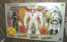 MARVEL LEGENDS AMAZON EXCLUSIVE 3-PACK PSYLOCKE, NIMROD & FANTOMEX READY TO SHIP
