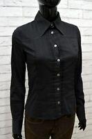 Camicia Donna DOLCE & GABBANA Taglia XS Maglia Blusa Shirt Woman Cotone Nero