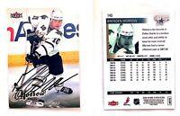 Brenden Morrow Signed 2008-09 Ultra #140 Card Dallas Stars Auto Autograph