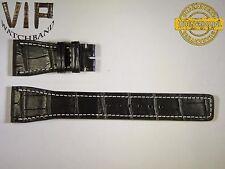 5 DAYS ONLY!! NEW OEM Authentic IWC strap 24mm genuine alligator black IWA50223