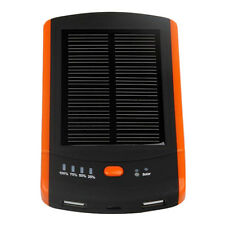 6000mAh Solar Charger Universal Power Bank Dual Usb Externl Battery