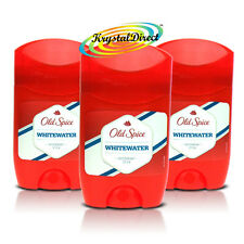 3x Old Spice WHITEWATER Deodorant Stick Deo OldSpice