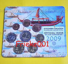 Griekenland - Grèce - 2009 BU met 2 euro normaal.