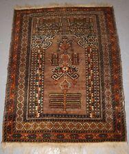 Antique Afghan Village Mosque Prayer Rug, Kizil Ayak Turkmen, Circa 1900/20.