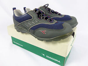 Diadora CAYMAN Blue and Gray Lady Cycling Shoes Size 6 ½ NIB
