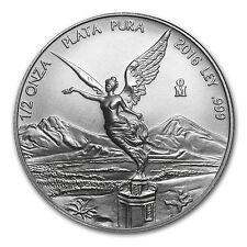 2016 Mexico 1/2 oz Silver Libertad BU - SKU #96163