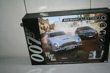 Micro Scalextric G1161 James Bond Bahn NO TIME TO DIE