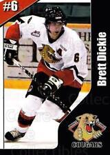 2003-04 Prince George Cougars #5 Brett Dickie
