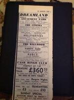 H2-1 Ephemera 1969 Advert Dreamland Margate Vanity Fair The Capitol System Wayne