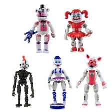 Five Nights At Freddy's Video Game FNAF Action 6 Mini Figures Toys Foxy Freddy