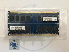 4GB (2x 2GB ) DDR2 PC2 6400U 666 800MHz Arbeitsspeicher Nanya Desktop RAM