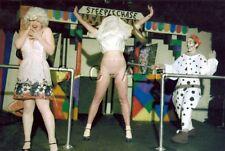Org Amateur Semi Nude Large (10.25 x 7) Photo- Clown- Funhouse- Panties- Skirt 7