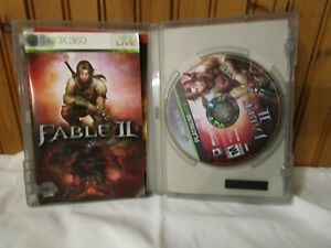 XBOX 360 Fable II 2  Video Game Complete with Manual