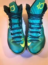 51342c9d8742 Nike kd V 5 hulk 554988-300 atomic teal volt green kevin durant 2013 mens