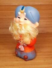 Vintage Genie Rubber Toy Doll СТ�РИК ХОТТ�БЫЧ 1980's New Old Stock Ussr