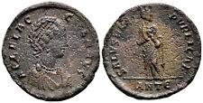 Aelia flacilla (383-388 DC) AE follis. Antioquía #WD 4309