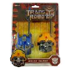 Optimus Prime Bourdon Transformers Enfants Talkie Walkie Set portée Radio