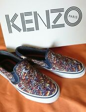 Rare black blue orange tiger Vans Kenzo slip on tiger animal shoes trainers 3