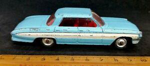 Corgi Toys Oldsmobile Super 88 Model Vintage Car Light Blue