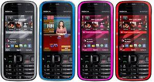 """Original Nokia 5730 XpressMusic 5730XM 3G Wi-Fi Bluetooth GPS 2.4"""" Slider Phone"""
