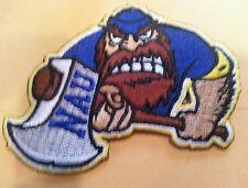 "NAU Northern Arizona University vintage embroidered iron on patch 3"" x 2.5"" A1"
