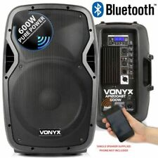 CASSA AMPLIFICATA ATTIVA 600W WOOFER BLUETOOTH USB-SD 31 CM 12 POLLICI art 17034