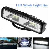 48W 12V LED Arbeitsscheinwerfer Driving Strip Flood Beam Lichtleiste SUV Offroad